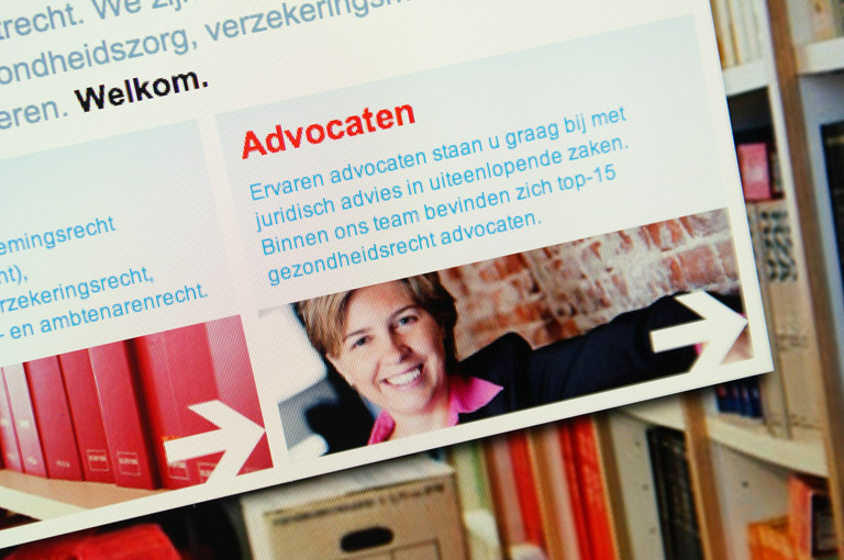 Webdesign voor KBS Advocaten