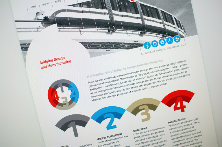 Nieuwe website voor Pontis Engineering