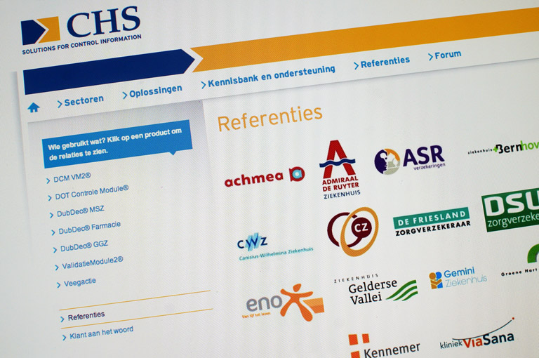Website ontwikkeling voor CHS