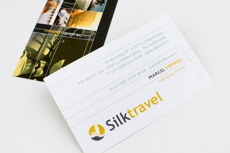 Silktravel brochure