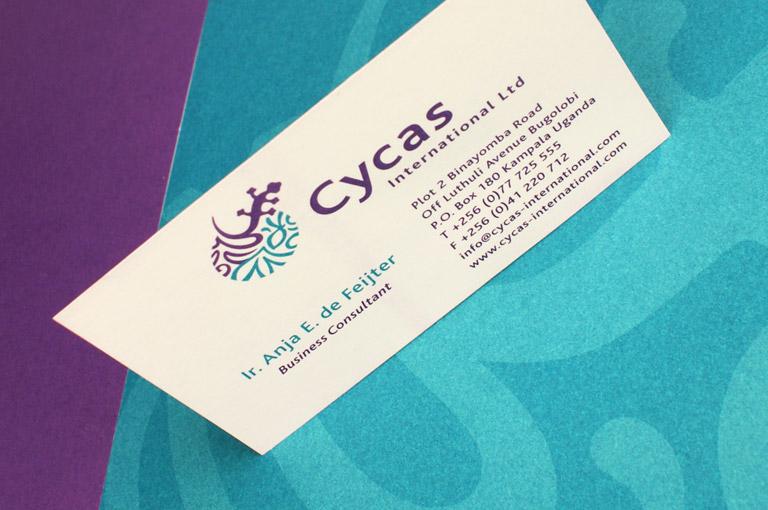 Cycas huisstijl ontwerp