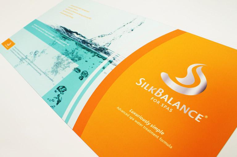 Silkbalance brochure ontwerp