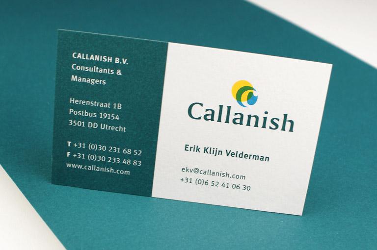 Callanish huisstijl ontwerp