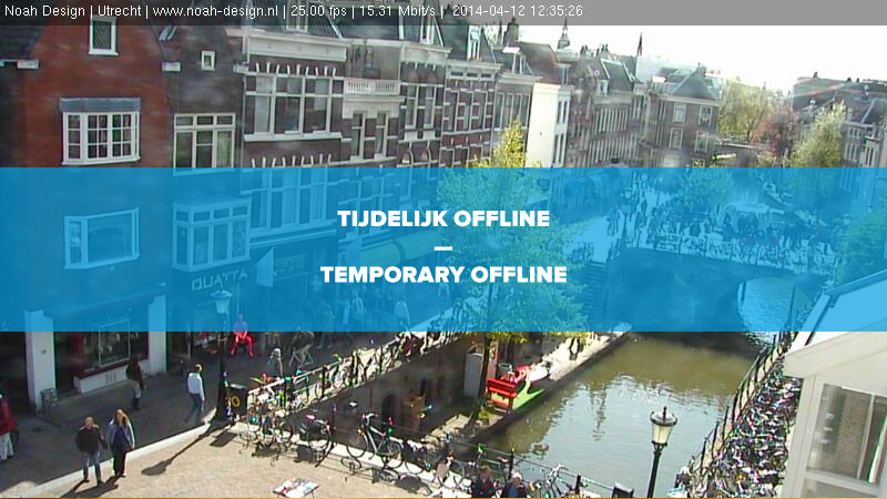 Webcam in onderhoud